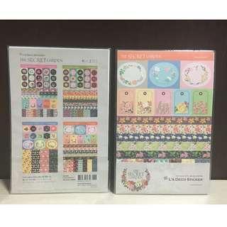 Korean Schedule Book Stickers