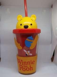 香淹迪士尼 Winnie the pooh水樽