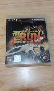 PS3 GAME THE RUN