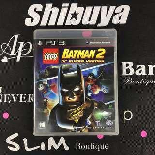PS3 Game LEGO Batman 2 DC SUPER HEROES