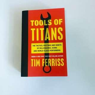 🚚 Tools of Titans by Timothy Ferriss