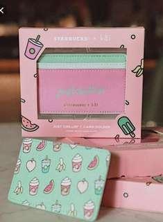 Starbucks Just Chillin' Card Holder
