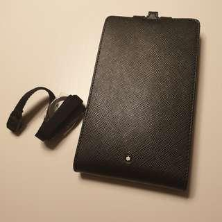🚚 MONTBLANC Sartorial Phone Holder with View Carry Me