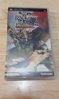PSP game monster hunter