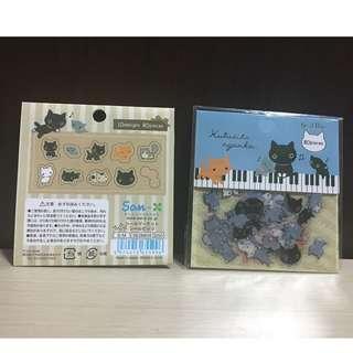 Kutusita Nyanko Stickers