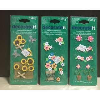 Decorative 3D Stickers