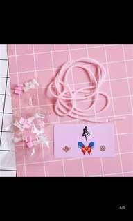 美少女戰士 充電器 貼紙 配件