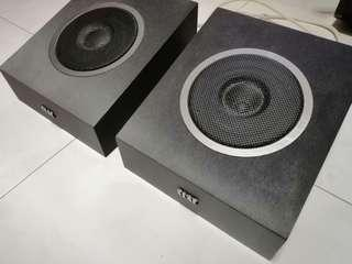 Elac Andrew Jones at os upfiring speakers pair
