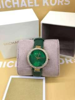 michael kors watch (green)