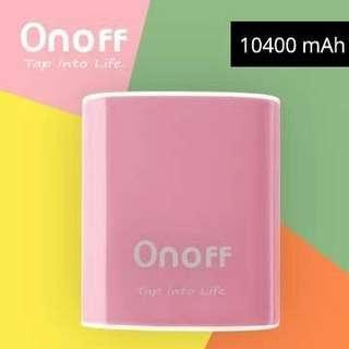 🚚 OnOff D1 10400mAh 行動電源
