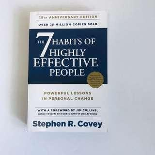 🚚 The 7 Habits of Highly Effective People by Stephen Covey