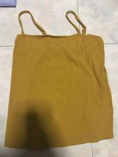 🚚 TEM mustard yellow camisole