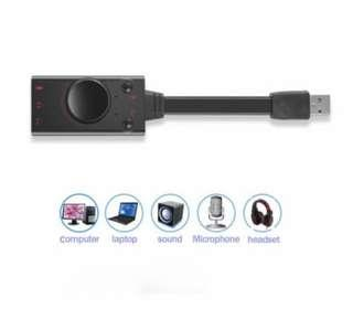 🚚 USB Sound Card - v2.0 - Plug n Play - Premium Quality Sound - NEW Set