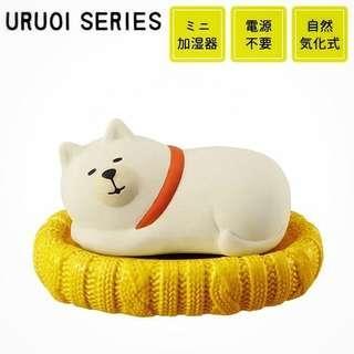 🚚 DECOLE Concombre | 秋田犬 陶瓷擺飾 附加濕功能
