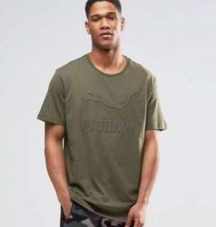 PUMA Oversized Tshirt In Khaki