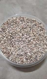 River washed smooth stones (topping for terrariums, cactus & succulents)