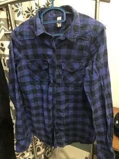 Checkered Shirt Size S