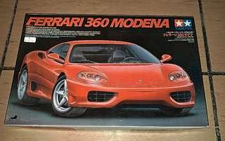 Tamiya 1/24 Ferrari 360 Modena  雙星 田宮 模型