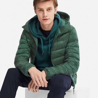限量 大型店專賣Uniqlo 連帽外套 特級極輕羽絨外套 連帽羽絨衣 男裝 女裝 全新 含可攜背袋子