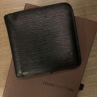 正品💯 Louis Vuitton Epi Noir Leather Wallet 黑色皮革銀包 錢包 | LV Unisex Men Lady #MILAN02