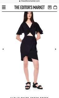 🚚 TEM Karlie twist-front dress