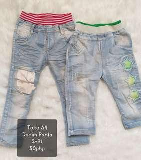 Take all baby pants