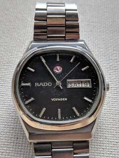 Vintage Rado Voyager Automatic Day Date Watch
