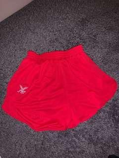 Red FBT Shorts