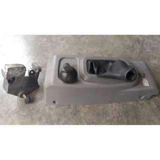 Gear Console with Gear Lock Kancil Belalang Manual