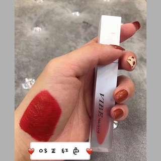 Vibe velvet matte lipstick