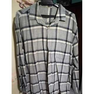 FLANNEL SHIRT LONG SLEEVE - XL
