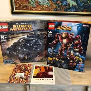 *3 sets* MISB Lego 76023 76105 DC Marvel Superheroes UCS Bundle