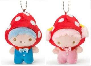 Sanrio Little Twin Stars 公仔吊飾 草菇蘑菇款