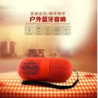 🚚 膠囊藍芽小音箱 藍芽音響 喇叭 TF USB