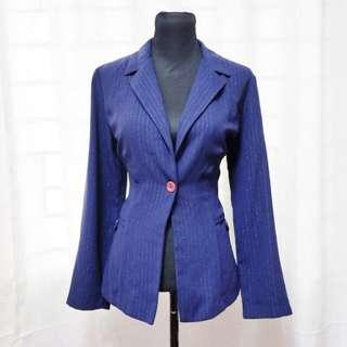 OUTERWEAR 1: Navy Blue Blazer