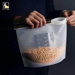 Food grade silicon storage bags