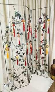 Metal folding screen [Moving out sale]