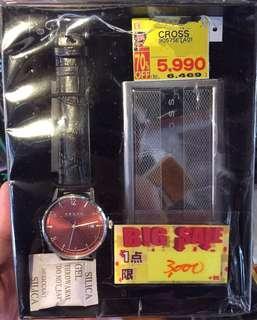 Last 3 set❗️送禮首選 CROSS 男士 手錶及咭片盒套裝