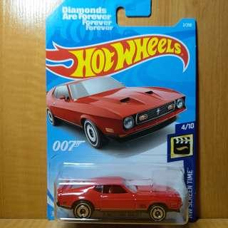 Hotwheels Ford Mustang Mach I (1971)