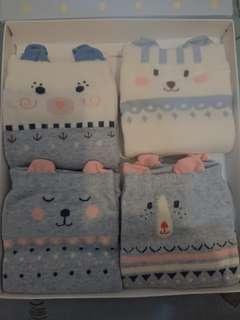 🚚 2018 新款caramella 成人款可愛造型短襪