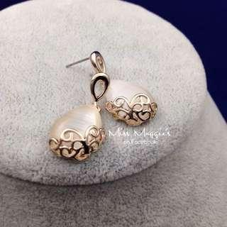 Rose gold earrings 玫瑰金耳環