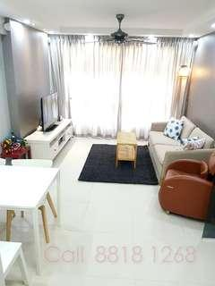 Just 5 Years! Near MRT! Super Renovated 4R HDB For Sale!