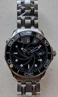 Sterile Dial Omega SeaMaster Homage Automatic Watch