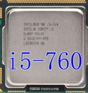 Intel I5-760 CPU