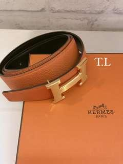 🚚 Preloved Hermes Belts (2 colors)
