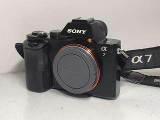 Sony A7 full-frame with kit lens 99% new
