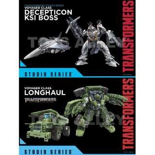 [Preorder] Transformers Movie Studio Series Voyager Wave 7 KSI Boss & Longhaul Set