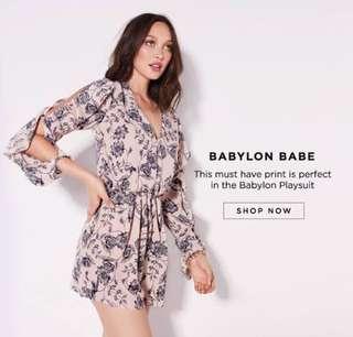 6ddb287cc5 Sheike Babylon Playsuit