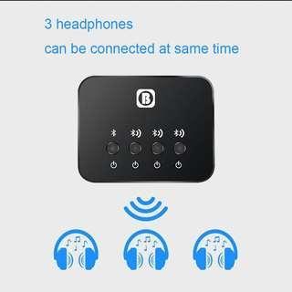 🚚 [BNIB] BW-107 Wireless Bluetooth Audio Sharing Transmitter