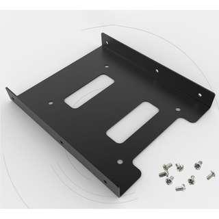 """2.5"""" To 3.5"""" SSD/HDD Metal Adapter Mounting Bracket Hard Drive"""